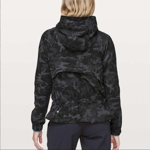Lululemon Pack It Up Jacket Incognito Camo Gray